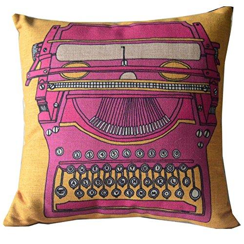 Kess InHouse Alison Coxon Midnight Jungle Pink Blue Throw Pillow 18 by 18