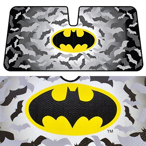 BDK Batman Sunshade for Car - Original Batman Design by Warner Brothers (Batman Mats Car compare prices)