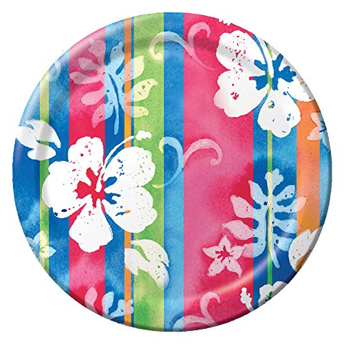 Creative Converting 8 Count Paper Banquet Plates, Bahama