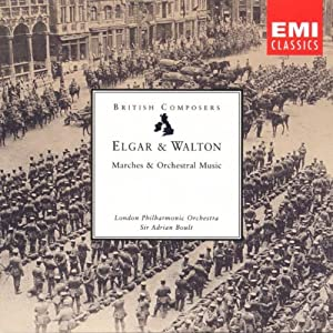 Elgar Walton Marches And Orchestral Music from EMI