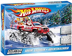 Mattel V9298 Calendrier de l'Avent 'Hot Wheels' Custom Motors