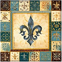 Thirstystone 4-Piece Blue Fleur de Lis I Coaster Set