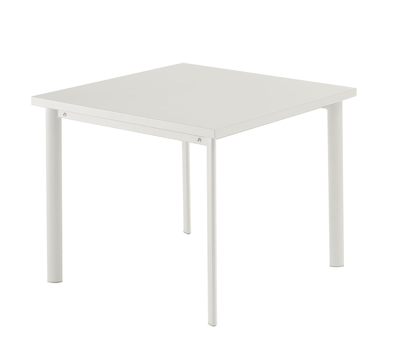 Emu 303062300 Star Tisch 306, 90 x 90 cm, pulverbeschichteter Stahl, weiss jetzt bestellen