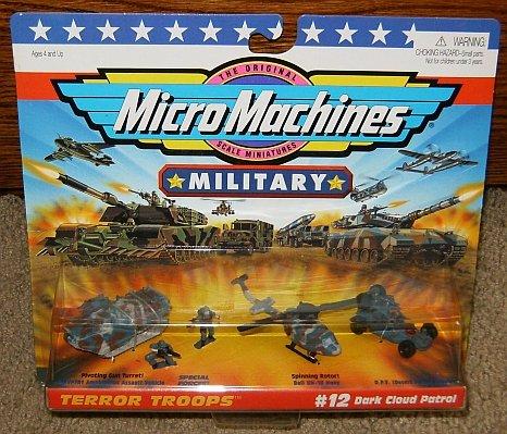 Micro Machines Dark Cloud Patrol #12 Military Collection