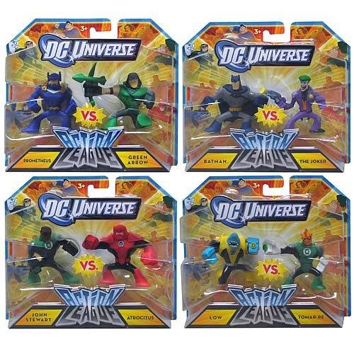 Buy Low Price Mattel DC Universe Action League 2-Pack Mini-Figures Wave 2 Set (B004IC0OZC)