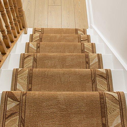 Fait Sur Mesure Tapis Chemin De Couloir Cordo Beige Long Hall Couloir Et D Escalier