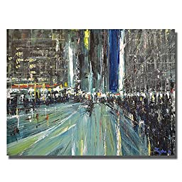 Urban Rhapsody #7 by David Tycho Premium Gallery-Wrapped Canvas Giclee Art (Ready-to-Hang)