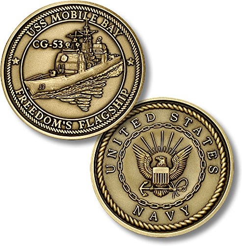 USS Mobile Bay (CG-53) Challenge Coin