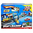 Hot Wheels Speedy Dealership Vehicle Playset