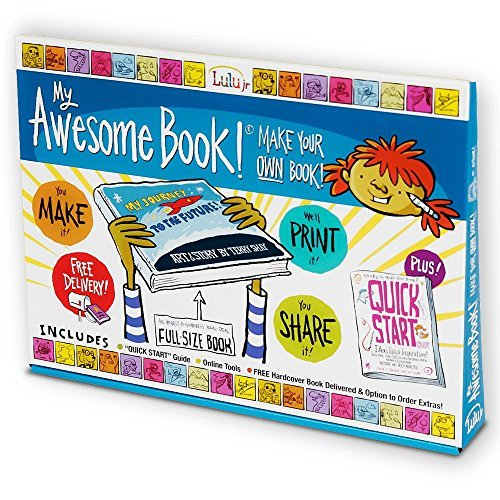 My Awesome Book - Create, Write and Illustrate Your Own Premium Size Hardcover Book Kit (Full Size Coloring Books compare prices)