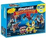 Playmobil - 5493 - Calendrier De L'Avent - Trésor Royal Du Dragon Asiatique
