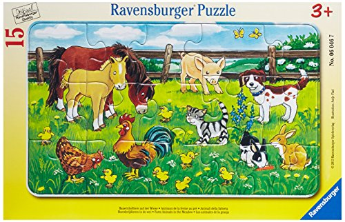 Farm Animals in The Meadow - 1