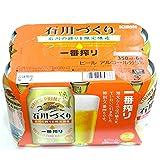 【2016年9月下旬製造】キリン 一番搾り 石川づくり350ml 6缶パック