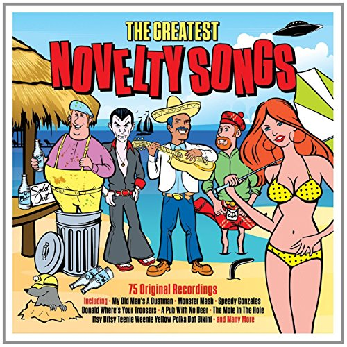 Greatest Novelty Songs (Bear Family compare prices)
