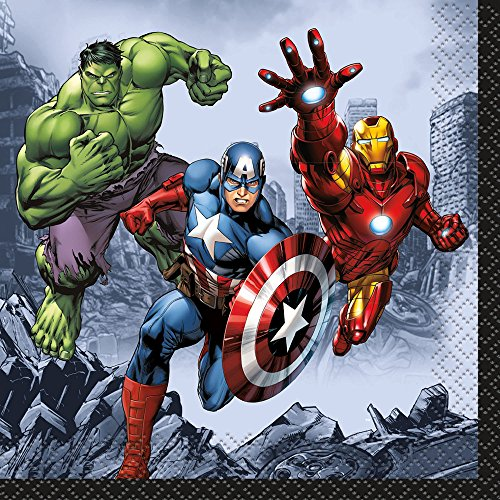 Marvel's Avengers Beverage Napkins [16 Per Pack] - 1