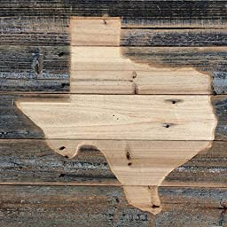 ShopAtBear - Rustic Reclaimed Wood (Pick a U.S. State), (Pick a Size), Etched, Home Decor, Outdoor Decor, Man Cave, Grilling, Reclaimed Rustic, Dorm Room