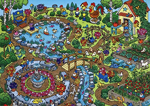 101 Things to Spot in the Garden 100 piece Puzzle