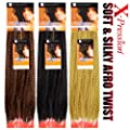 Sensationnel Synthetic Hair Braids Soft & Silky Afro Twist Braids (M130/1B)