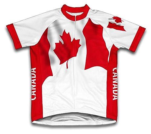 Canada Flag Cycling Gear