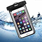 Waterproof Case, ENGIVE Waterproof Pouch Bag Case for iPhone 6 Plus/6/5s/5/5c, Samsung Galaxy S6/S6 EDGE/S5/S4/NOTE 4/3/2, HTC ONE M9/M8/M7, SONY Z4/Z3/Z2, Google Nexus 6/5/4, Smartphone Waterproof Protector for Boating/Hiking/Swimming/Diving
