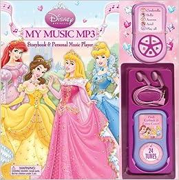 Disney Princess My Music MP3: Storybook & Personal Music