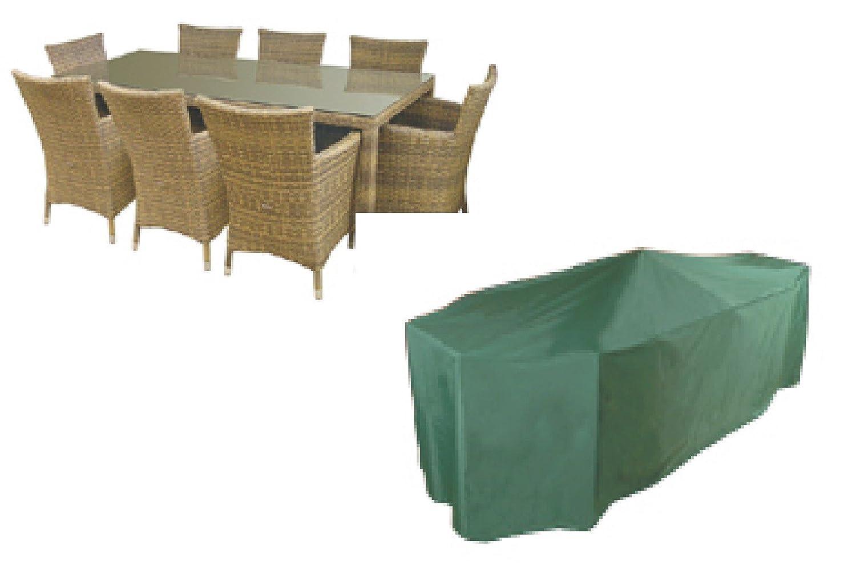 Abdeckplane für Rechteckig Garten Sitzgruppen