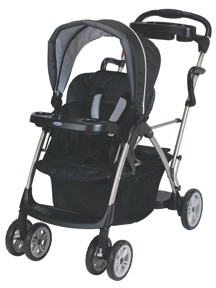 Graco RoomFor2 Stand and Ride Classic Connect Stroller, Metropolis