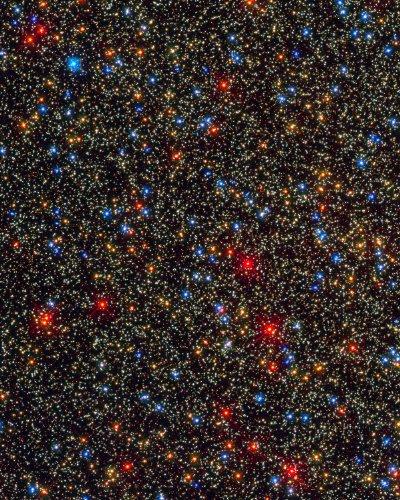 Hubble Space Telescope Photo Globular Star Cluster Omega Centauri Nasa Photos 8X10