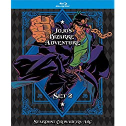 JoJo's Bizarre Adventure Set 2: SC LE [Blu-ray]