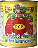 San Marzano DOP Authentic Whole Peeled Plum Tomatoes - 28 oz cans (Pack of 6)