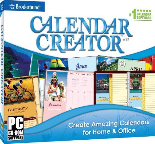calendar creator deluxe free download for windows 10 32bit current