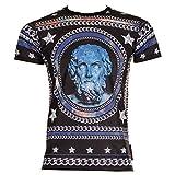 Criminal Damage Roman T Shirt (Schwarz)