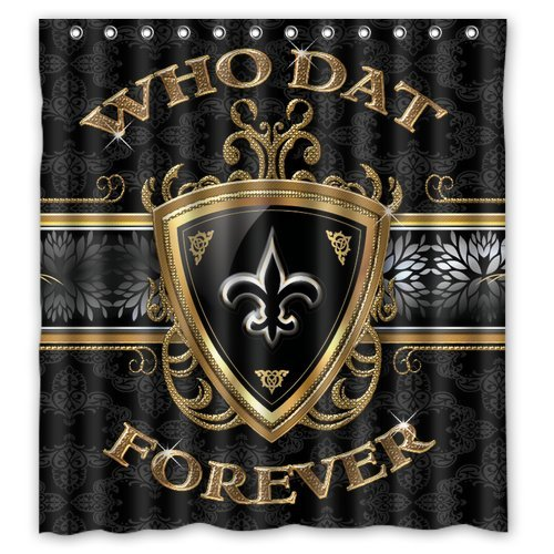New Orleans Saints Curtain Saints Curtain Saints Curtains New Orleans Saints Curtains