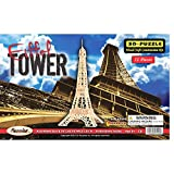 Puzzled, Inc. 3D Natural Wood Puzzle - Eiffel Tower
