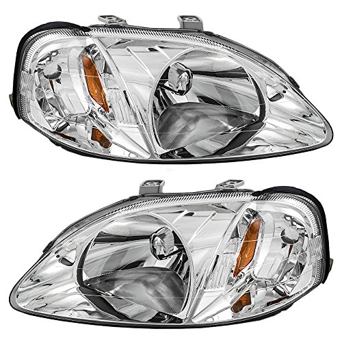 driver-and-passenger-headlights-headlamps-replacement-for-honda-33151s01a02-33101s01a02