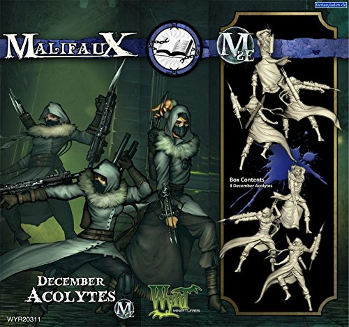 Wyrd Miniatures Malifaux Arcanists December Acolyte Model Kit (3 Pack)