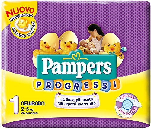 Pampers Progressi Newborn Pz.28+B/S1,00