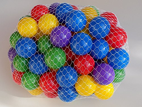 My Balls by CMS Brand Pack of 800 pcs 2.5'' Phthalate Free BPA Free Crush Proof Plastic Ball Pit Balls in 5 Bright Colors (Moose Ball Popper compare prices)