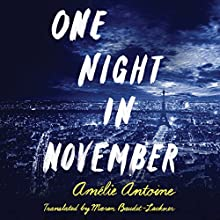One Night in November Audiobook by Amélie Antoine, Maren Baudet-Lackner - translator Narrated by Lauren Ezzo, Scott Merriman, Emily Sutton-Smith, Kate Rudd, Amy McFadden, P. J. Ochlan, Will Damron, Jeffrey Cummings, Jake Mate, Will Ropp
