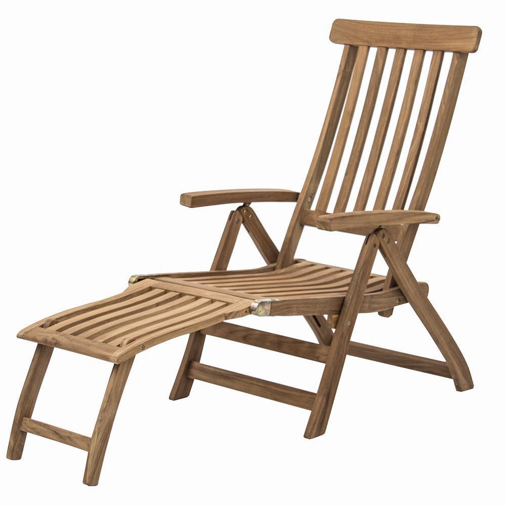 Siena Garden 255177 Deck Chair,Teak FSC Teakholz FSC 100%