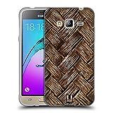 Amazon.co.jpHead Case Designs 編み込み・バンブー オーガニック・パターン ソフトジェルケース Samsung Galaxy J3