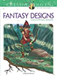 Fantasy Designs Coloring Book