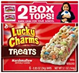 Lucky Charms Treats Marshmallow, 5.1 Ounce (Pack of 6)