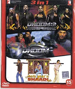 Dhoom 2 / Dhoom / Mere Yaar Ki Shaadi Hai(3 in 1 - 100% Orginal DVD Without Subtittle)
