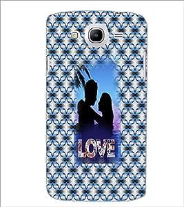 Printdhaba Couple D-3550 Back Case Cover For Samsung Galaxy Mega 5.8