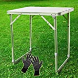 SoBuy Portable Picnic Camping Camp Folding Table, Outdoor Party Banquet Table,8816-B