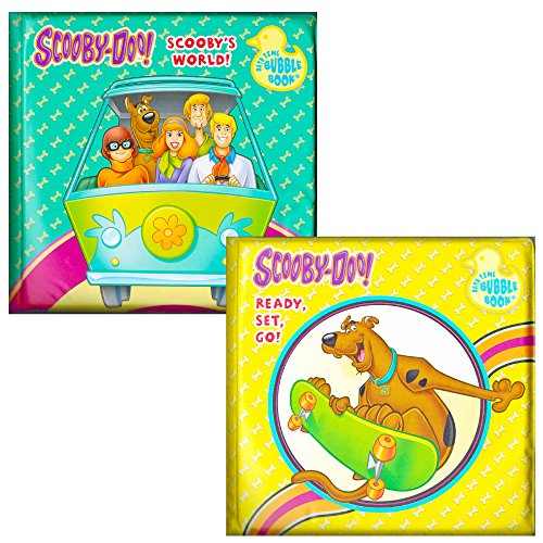 Scooby-doo Bath Books (Set of 2)