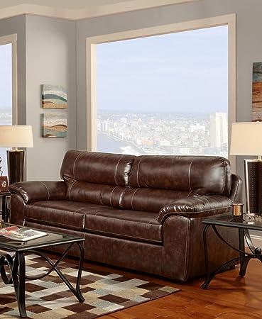 Chelsea Home Furniture Dorchester Sofa, Cheyenne Café