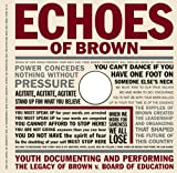 img - for Echoes of Brown: Youth Documenting and Performing the Legacy of Brown V. Board of Education with DVD (Teaching for Social Justice Series) book / textbook / text book