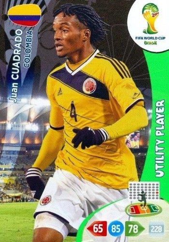 FIFA World Cup 2014 Brazil Adrenalyn XL Juan Cuadrado Utility Player
